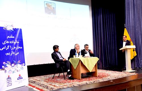 دیدار دکتر مالکی رئیس بهداشت و درمان صنعت نفت بوشهر با خانواده ها 6