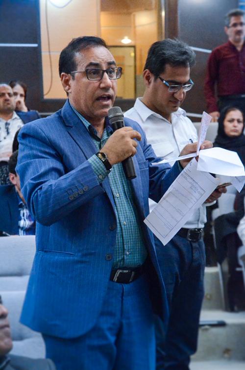 دیدار دکتر مالکی رئیس بهداشت و درمان صنعت نفت بوشهر با خانواده ها 13