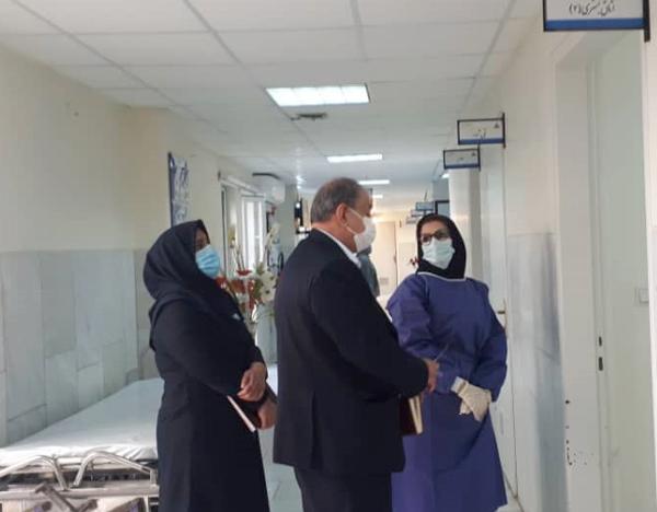 راند بخشهای بیمارستان توحید جم  5