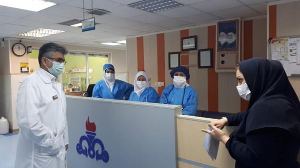 راند بخشهای بیمارستان توحید جم  6