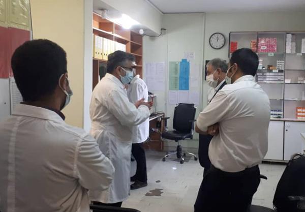 راند بخشهای بیمارستان توحید جم  7